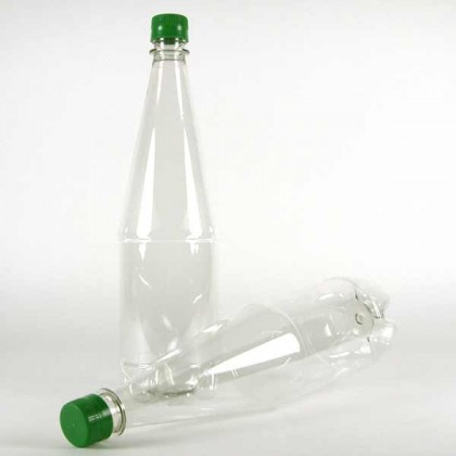 1 liter PET bottle with cap - box of 24 from dowricks.com