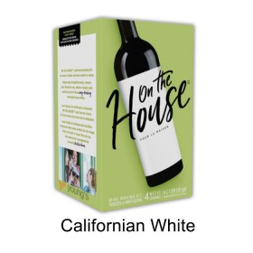 On the house - Californian White - 30 bottle wine kit