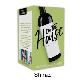 On the house - Shiraz - 30 bottle wine kit