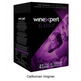Winexpert Classic - Californian Voignier - 30 bottle winemaking kit