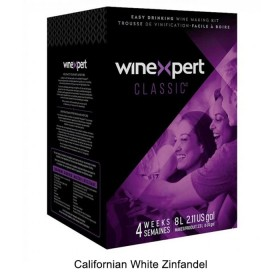 Winexpert Classic - Californian White Zinfandel - 30 bottle winemaking kit