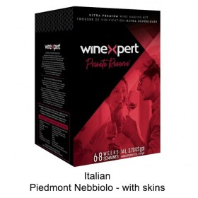 Winexpert  - Private reserve - Italian Piedmont Nebbiolo - with grape skins (Winemaking Kit)