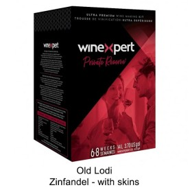 Winexpert  - Private reserve - Old Lodi Zinfandel - with grape skins (Winemaking Kit)
