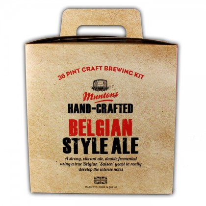 Hand-crafted Belgian Ale from dowricks.com