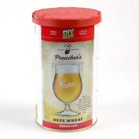 Coopers Preachers Hefe Wheat Beer kit