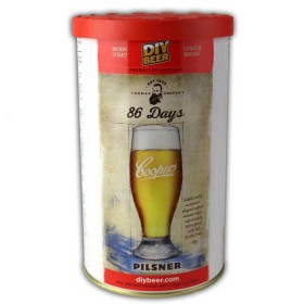 Thomas Coopers 86 Days Pilsner (1.7kg) - Takes just 10 days to make !!