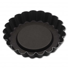 Gobel Bakeware - 100mm non-stick fluted tartlette mould
