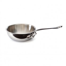 16 cm non-stick curved splayed saute m'cook