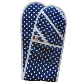 Belle - Quality 'English made' kitchen textiles - betty carousel double oven glove