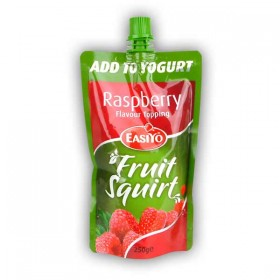 Easiyo Raspberry Flavour Topping Fruit Squirt