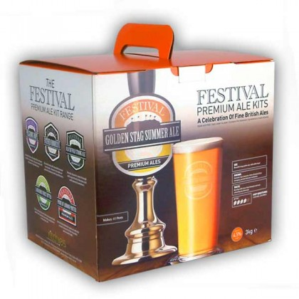 Festival Golden Stag Summer Ale from dowricks.com