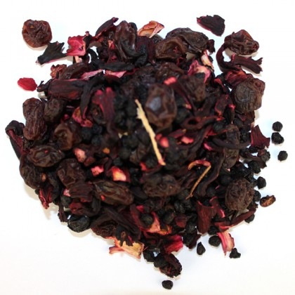 Fruit Tea blend Hamburger Gruetze 100 gram from dowricks.com