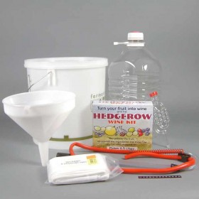 Hedgerow Winemaking complete starter kit - 1 gallon
