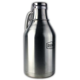 Stainless Steel Growler - 2 litre