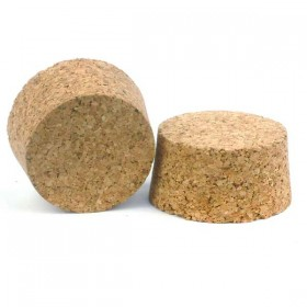 No 8 cork bung 64 mm top x 57 mm bottom