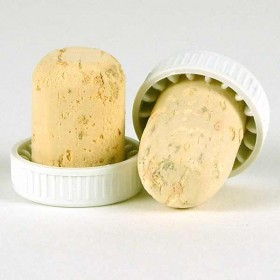 Plastic topped corks - White bag of 100