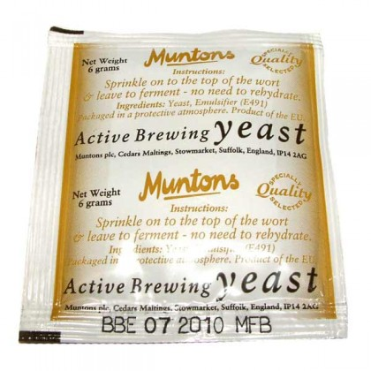 Premium Gold Active Brewing Yeast from dowricks.com