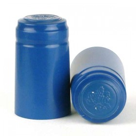 Shrink Capsules - Blue - 1000x