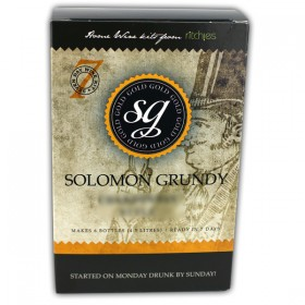 Solomon Grundy Gold Sauvignon Blanc 6 Bottles