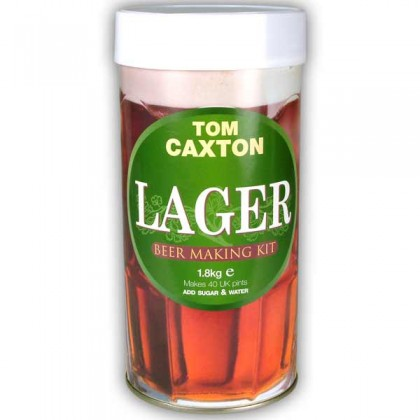 Tom Caxton Lager from dowricks.com