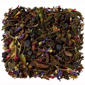 White / Green Tea Blend Elderberry / Cassis / Aronia 100 gram